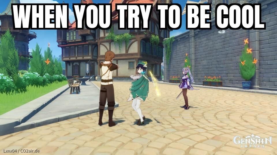 Genshin Impact Memes