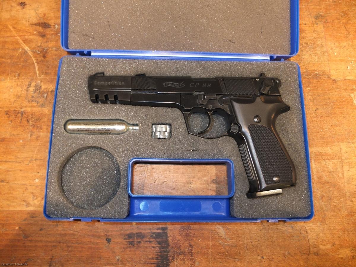 """Walther CP88 mit 6"""" Wechsellauf"""