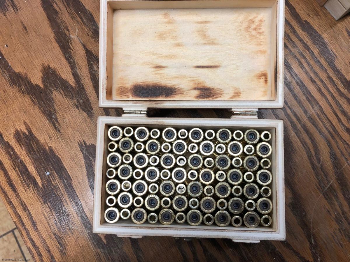 Box für SAA Hülsen