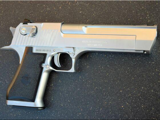 WE Cybergun Magnum Research Desert Eagle 6mm GBB Vollmetall II