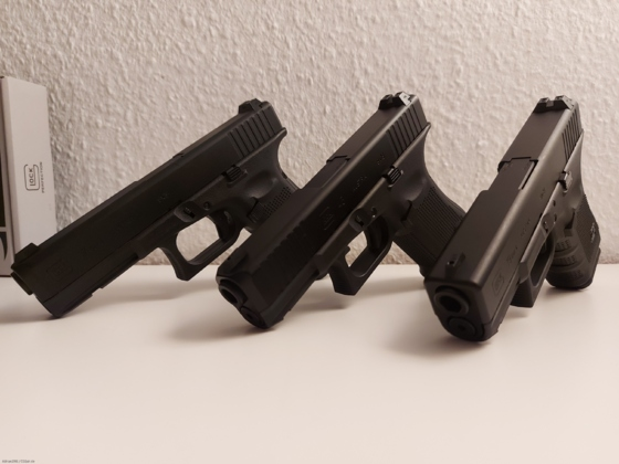 Glock-Trio!