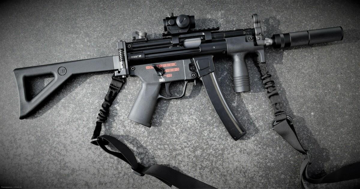 Heckler&Koch MP 5k GBB 6mm Airsoft MPi MP5k