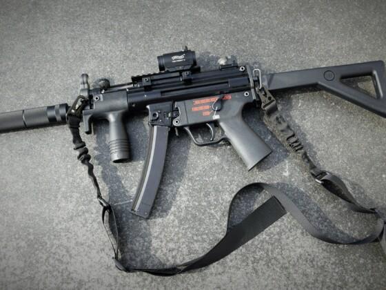 Heckler&Koch MP 5k GBB 6mm Airsoft MPi MP5k II