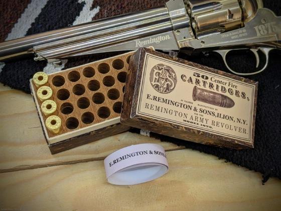 Ladehülsen: Schachtel für den Remington
