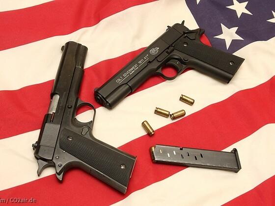 Reck Government vs. Colt 1911 Umarex