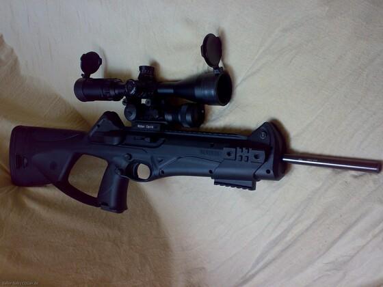 CX4 Storm mit Ritter RDG und Walther3-9x44 Sniper (1)