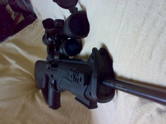 CX4 Storm mit Ritter RDG und Walther3-9x44 Sniper (2)