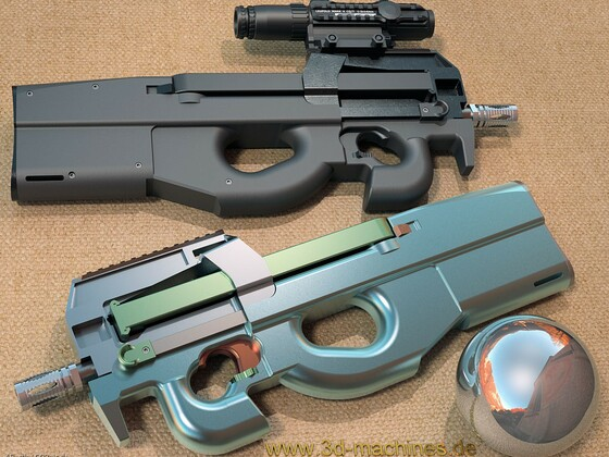 FN P90 Multicolor