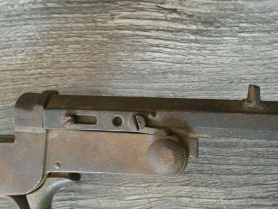 Altes Luftgewehr
