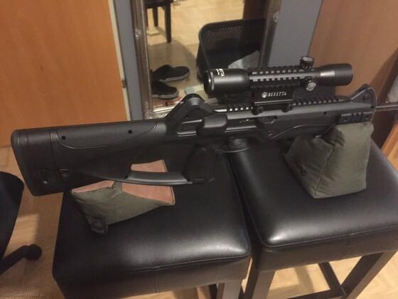 """Beretta CX4 Storm XT - mit Einschieß """"Bags"""""""