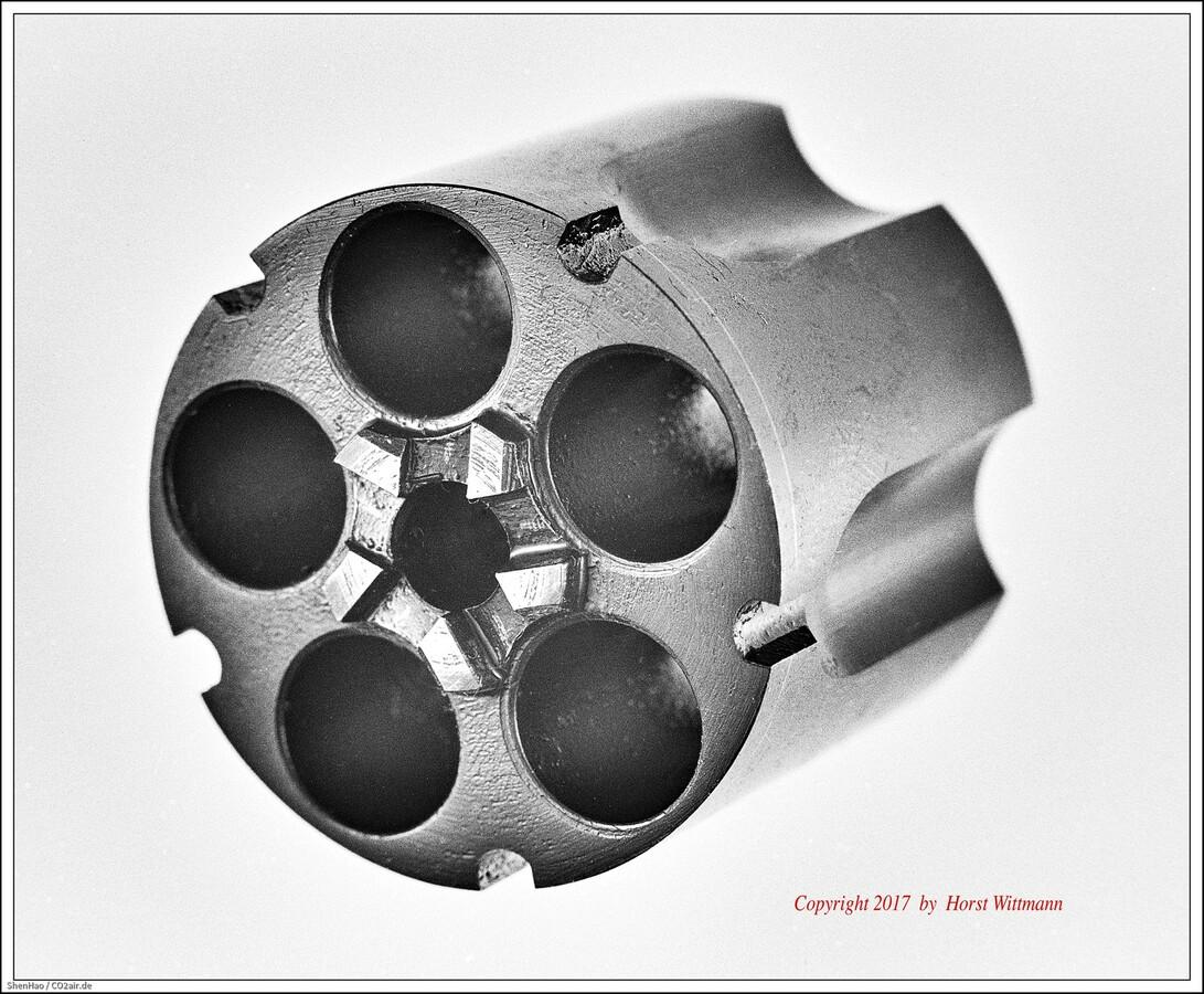 Korth Schreckschussrevolver 9mm RK  -  Trommel 01