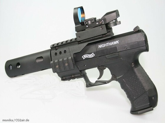 Walther Nighthawk mit LPZ