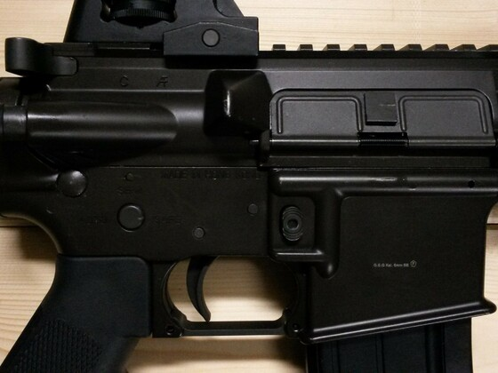 King Arms M4A1 C.Q.B. R.I.S. 6mm GBB Vollmetall