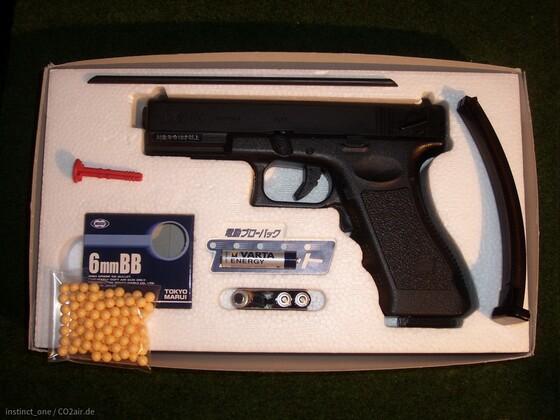Tokyo Marui Glock 18c AEG