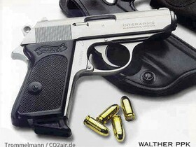 US Walther PPK 9mm kurz