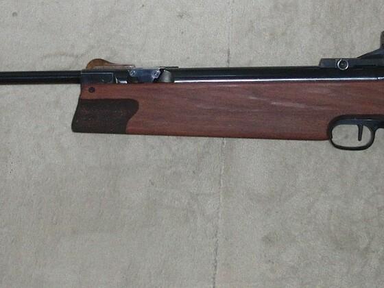 Walther LGR mit restauriertem Schaft