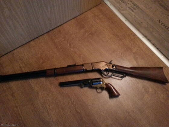 Western Navy 1851 CAL 9mm Knall