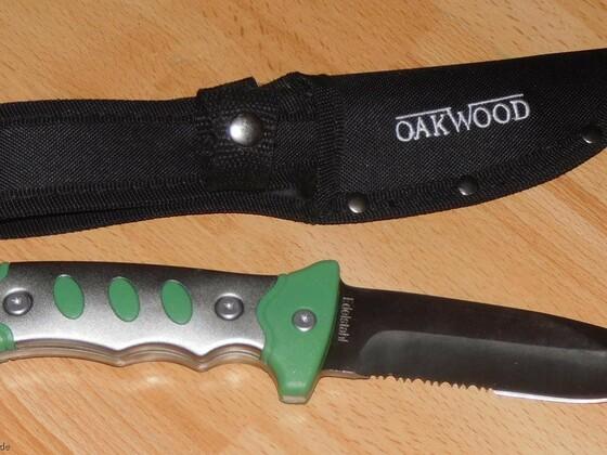 OAKWOOD Fahrtenmesser