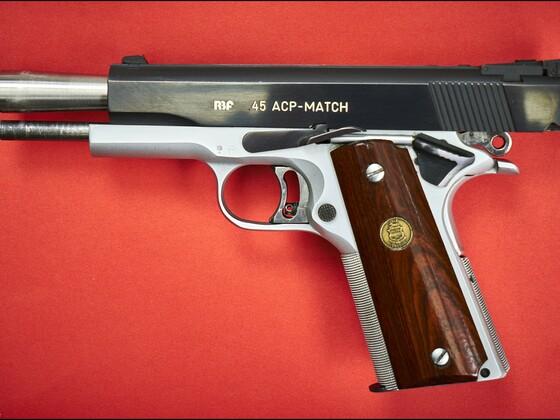 RBF 45ACP Match  -  gespannt