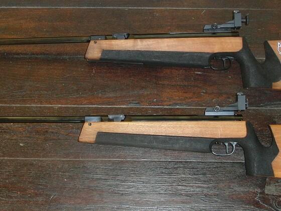 2x restaurierte Walther LGR