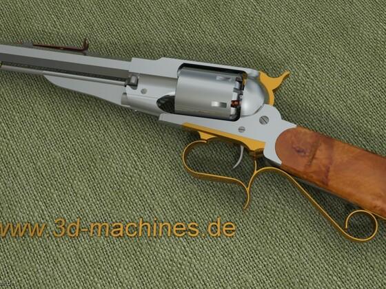 Remington 1858 Carbine Preview
