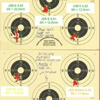Munitionstest, FWB300S, 25m, benchrested, 30.06.2012 (1)