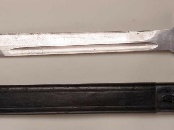 Unbekanntes Faschinenmesser