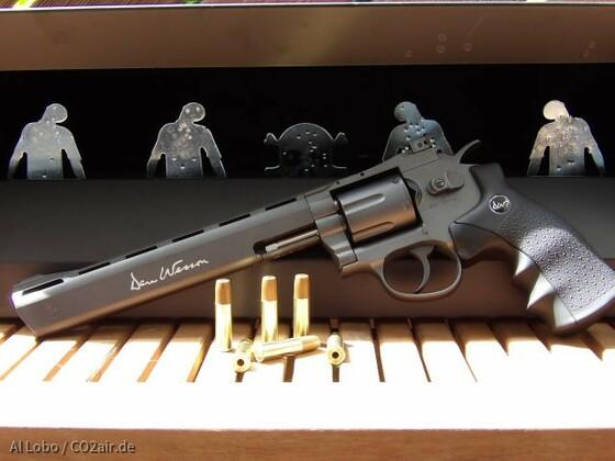 """Dan Wesson 8"""" Revolver BB"""
