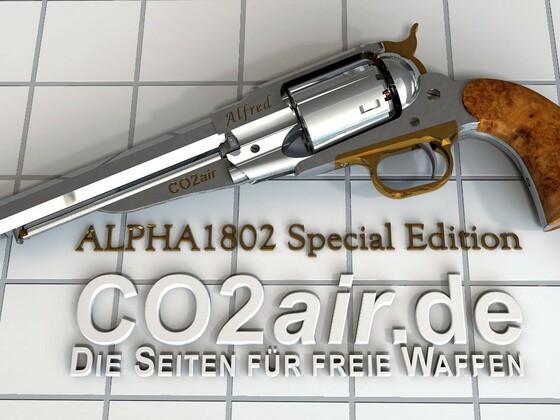 Remington 1858 Special Edition ALPHA 1802