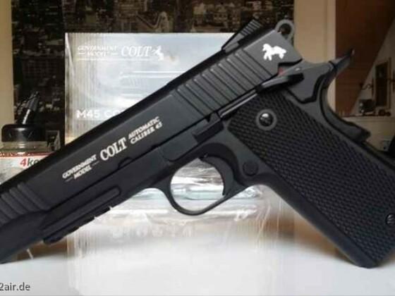 Colt 1911 goverment m45 cqbp