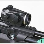 Hawke RedDot, Typ 12104, 3 MOA. Montiert auf eine Weihrauch HW 110 ST Carbine.