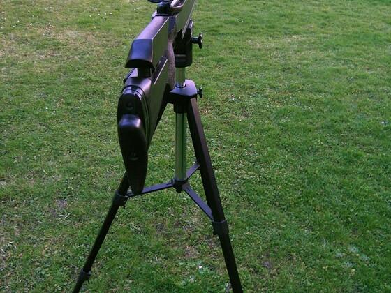 FWB 300S Universal auf Kamerastativ