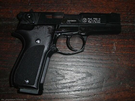 Walther P88 Schreckschuss