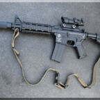 Defense Forces M4 Carbine 4,5mm BB CO2 BLACK RIFLE SPECIAL FORCES EDITION