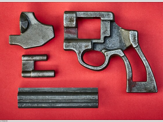 Gesenkgeschmiedete Rohlinge für Korth-Revolver