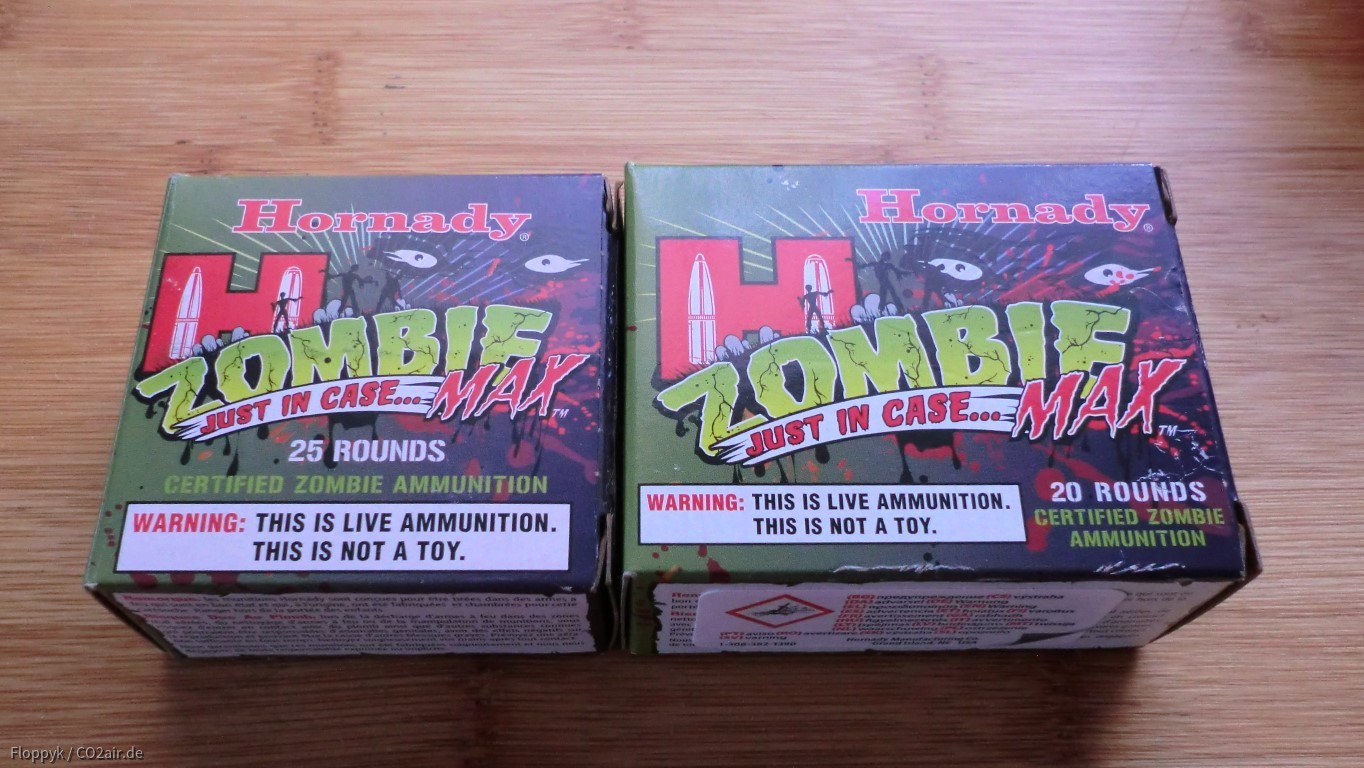 Zombiemunition in 45 ACP
