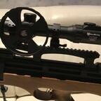Einstellrad des Nikko Stirling zur Entfernungsmessung speziell beim Fieldtarget Schießen