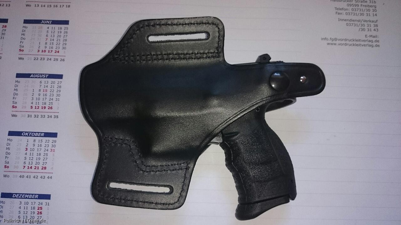 Walther P22Q in orig  Walther P22-Holster - Gallery - CO2air de