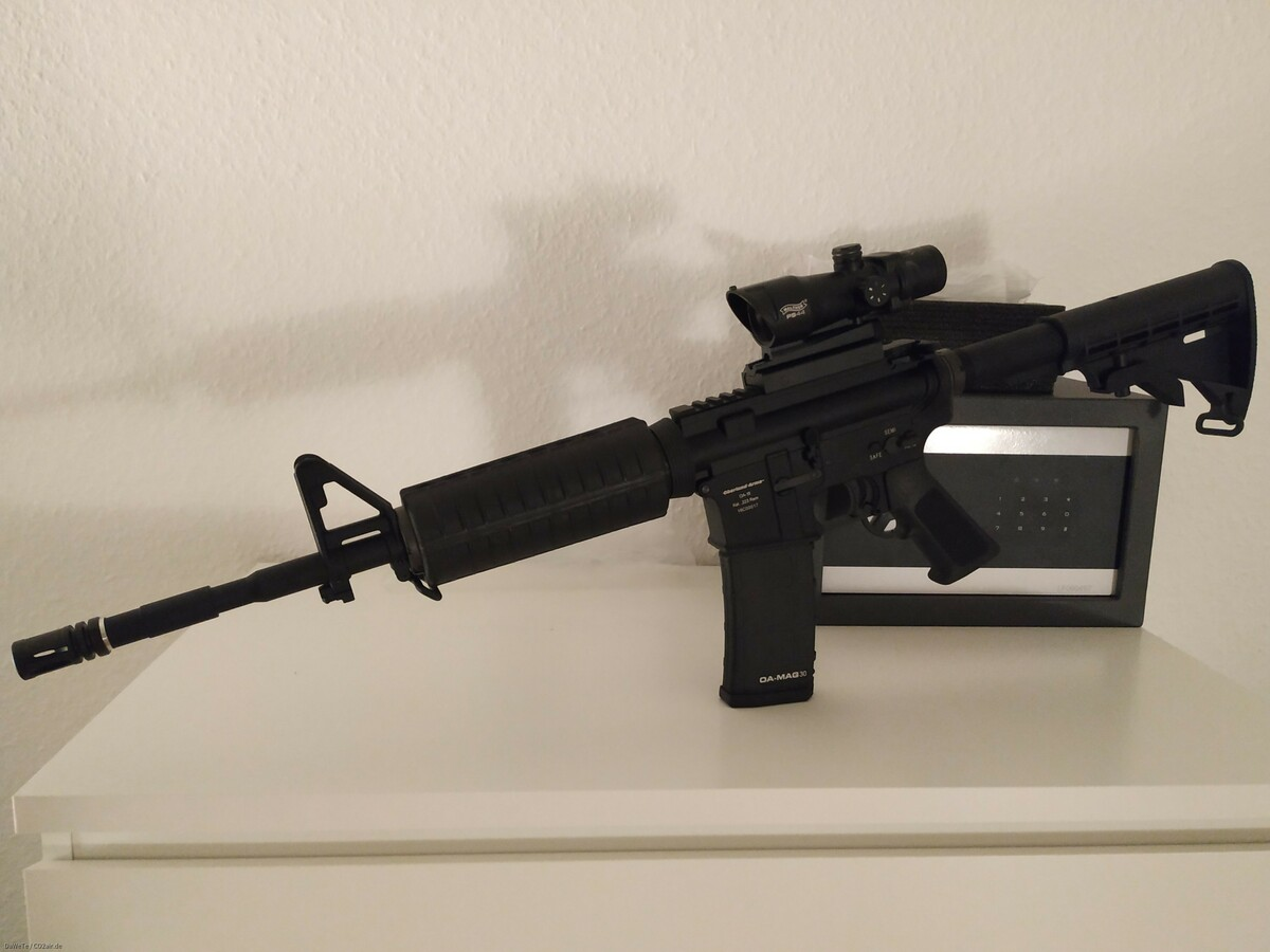 Oberland Arms OA-15 GBB + Walther PS44