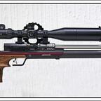 Anschütz 9015 ONE Hunting mit Hawke ZF #13310, 4-16X50, MEC Bi-pod