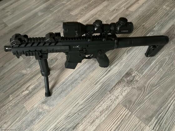 Sig Sauer MPX ZF 3-9x40