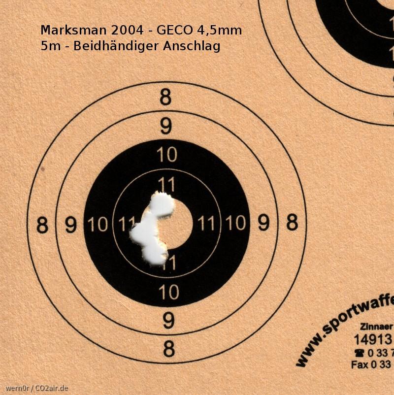 Marksman 2004 Streukreis