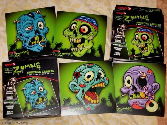 Gamo Zombie Targets