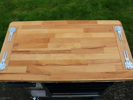 Zwischenplatte für Rollwerkbänke