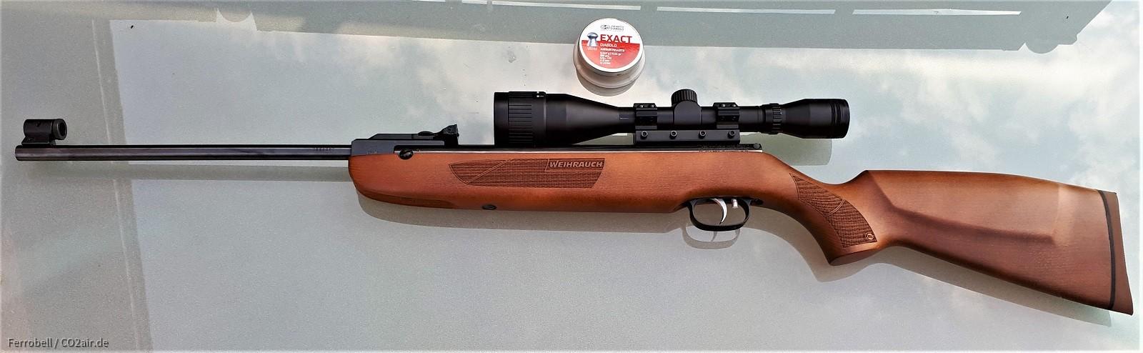 Weihrauch HW 50S mit Walther 6x42
