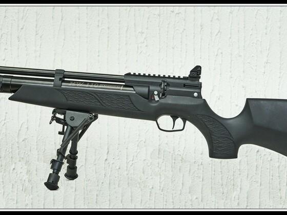 HW 110 ST Carbine, Sondermodell von Schlottmann, offene UTC Visierung und Harris Zweibein