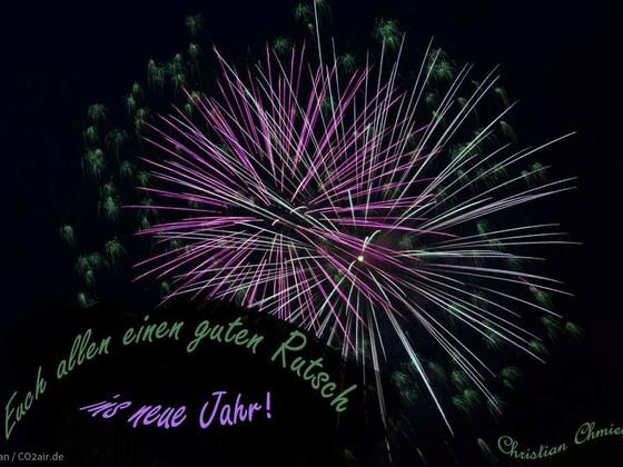 Allen einen guten Rutsch ins neue Jahr!