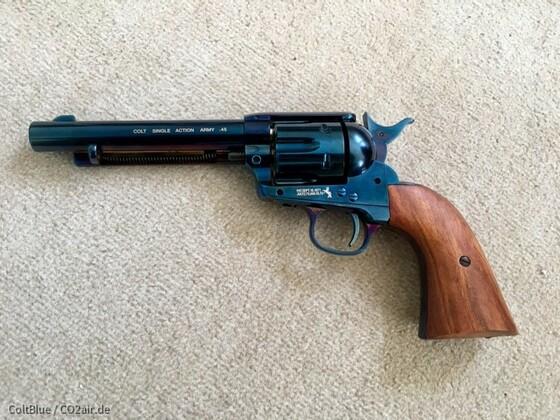 Colt SAA mit Afzelia Griffen