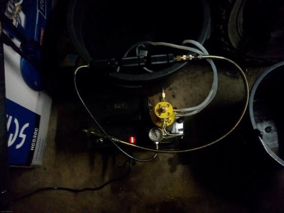 China Kompressor mit 3 Filter