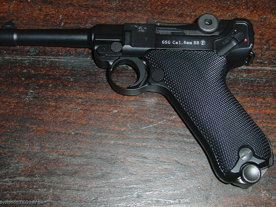 GSG P08 GBB Pistole